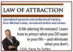 Michael Losier - Law Of Attraction Class for Invisus Direct ISA's - this FREE 90-minute audio training may be used 'for anyone for anything' that they would like to achieve in life!